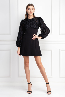 Mirrors Long Sleeve Dress -0