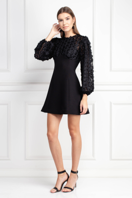 Mirrors Long Sleeve Dress -1