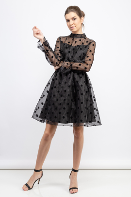 Dot Lady Dress-0
