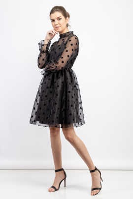 Dot Lady Dress-1