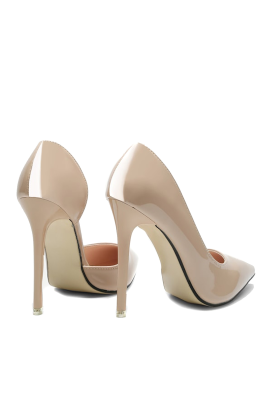 Pointed Cream Heels-2