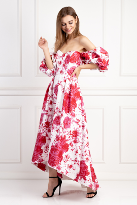 Dream On Floral Dress-1