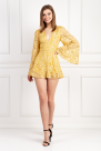 Golden Yellow Playsuit