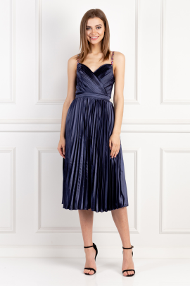 Melanie Navy Dress-0