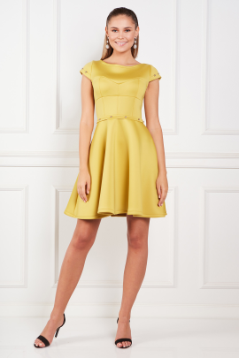 Yellow Samantha Dress-0