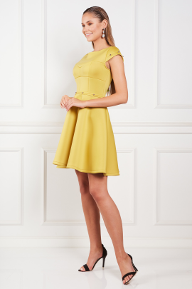 Yellow Samantha Dress-1
