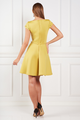 Yellow Samantha Dress-2