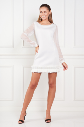 White Chlesea Dress-0