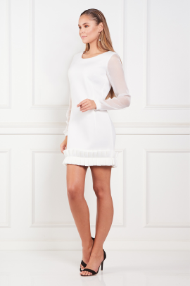 White Chlesea Dress-1