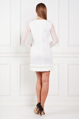 White Chlesea Dress-2