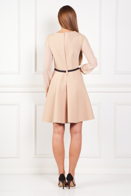 Beige Samantha Dress-2