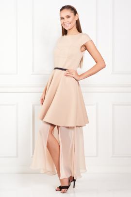 Beige Meghan Dress -1