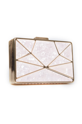 Geometric Design Evening Clutch Bag-0
