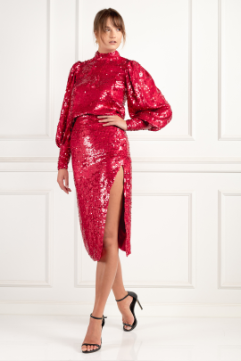 Red Sequin Suit-1