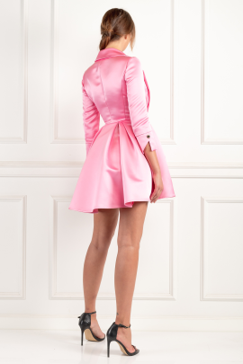 * Pink Dress With Circle Skirt / VILNIUS-2