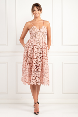 Azaelea Blush Pink Dress-0