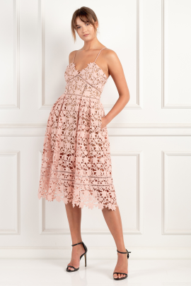 Azaelea Blush Pink Dress-2