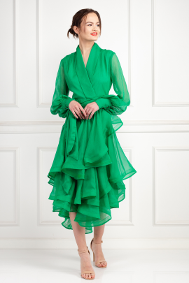 Cuba Emerald Dress -0