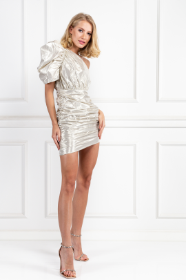 Champagne Maureen Mini Dress-0