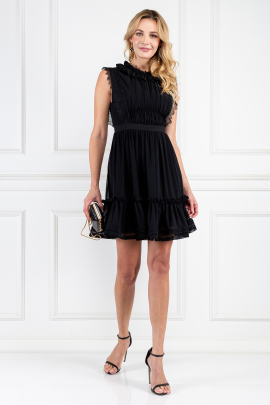 Black Mini Elfie Dress-0