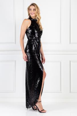 William Black Sequin Dress-1