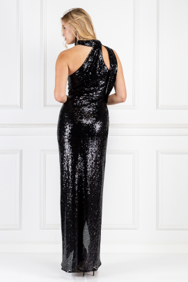 William Black Sequin Dress-2