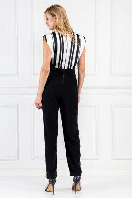 Black Riot Girl Jumpsuit-2