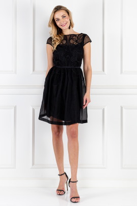 Black Maxime Dress-0