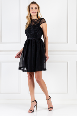 Black Maxime Dress-1