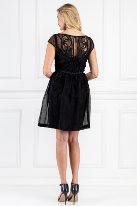 Black Maxime Dress-2