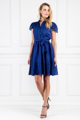 Blue Jacques Dress-1