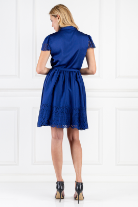 Blue Jacques Dress-2