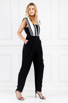 Black Riot Girl Jumpsuit-1