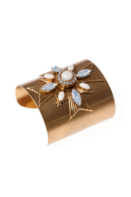 Selma Gold Plated Cuff-0