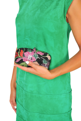 Floral Night Clutch-1