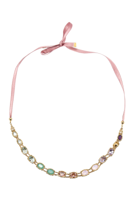 Color Shyness Necklace-0
