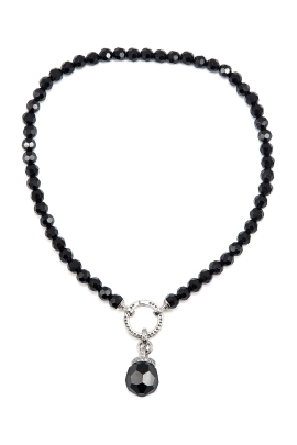 Black Mystery Necklace / VILNIUS-0