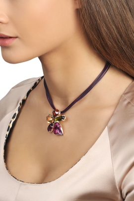 Mysterious Flower Necklace-1