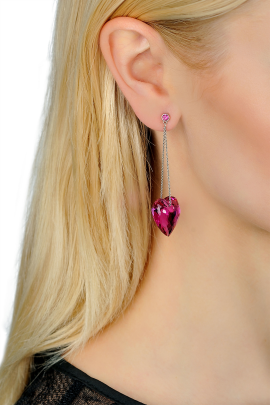 Rose Love Earrings / VILNIUS-1