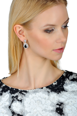 Black Magic Earrings-1