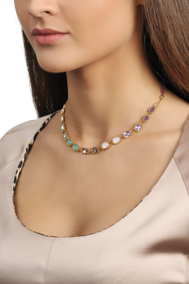 Color Shyness Necklace-1