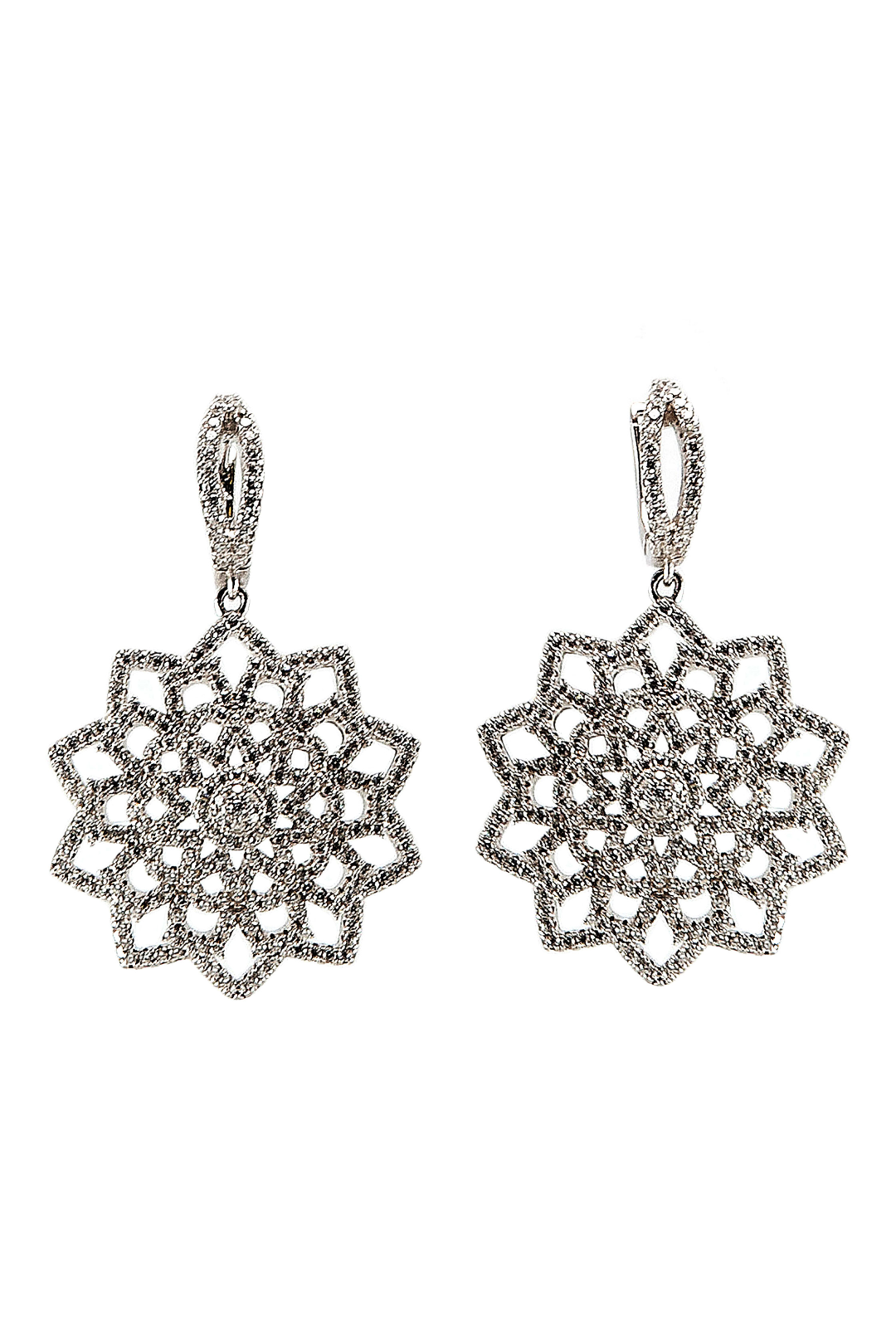 Snow Flower Earrings