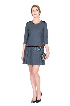Arquette Wool Dress-0