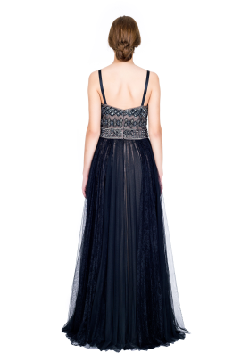 Embellished Tulle Gown -3