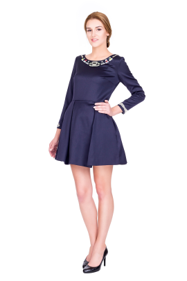 Copelia Wool Mini Dress-1