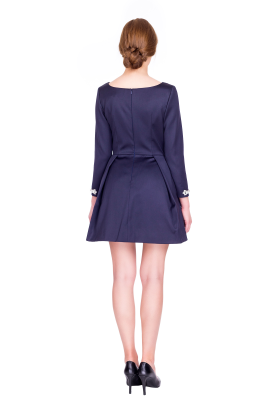 Copelia Wool Mini Dress-3