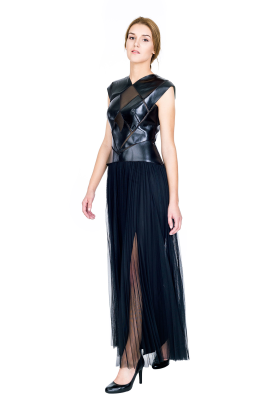 Ola Black Gown-0