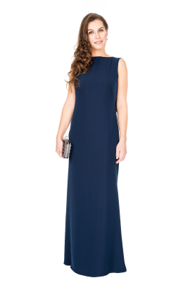 Vireo Navy Gown-0