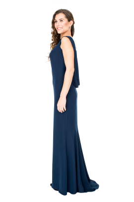 Vireo Navy Gown-1