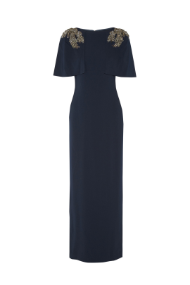 Navy Top Coat Gown-0